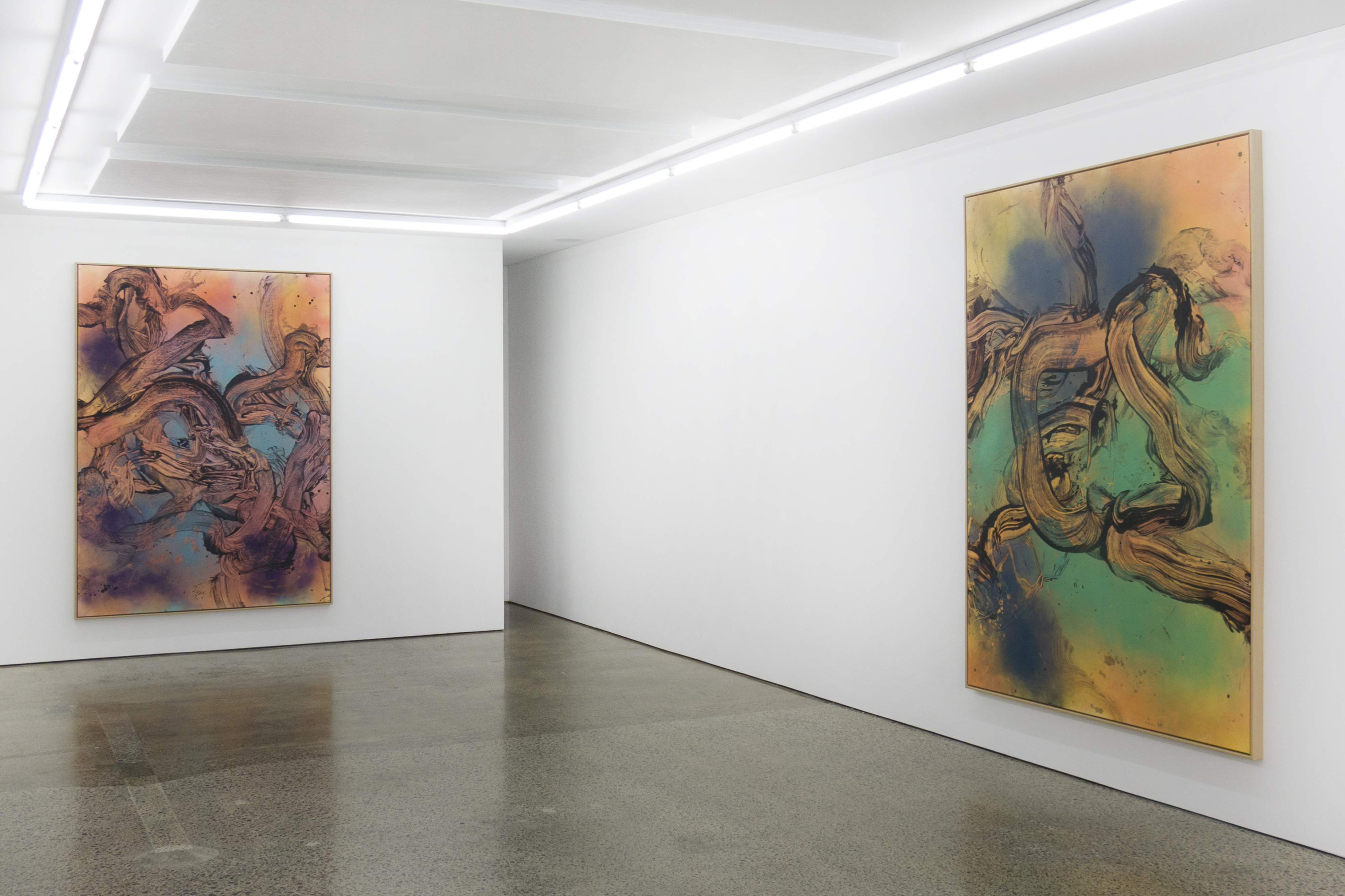 40 jaar dames eliza Three Judy Millar Paintings – EyeContact 40 jaar dames eliza